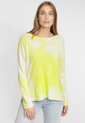 IM BATIK-LOOK - Maglione - yellow