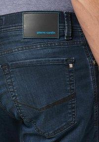 Pierre Cardin - Denim shorts - blueblack - 2