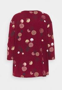 Esprit - CORE - Maglietta a manica lunga - bordeaux red - 1