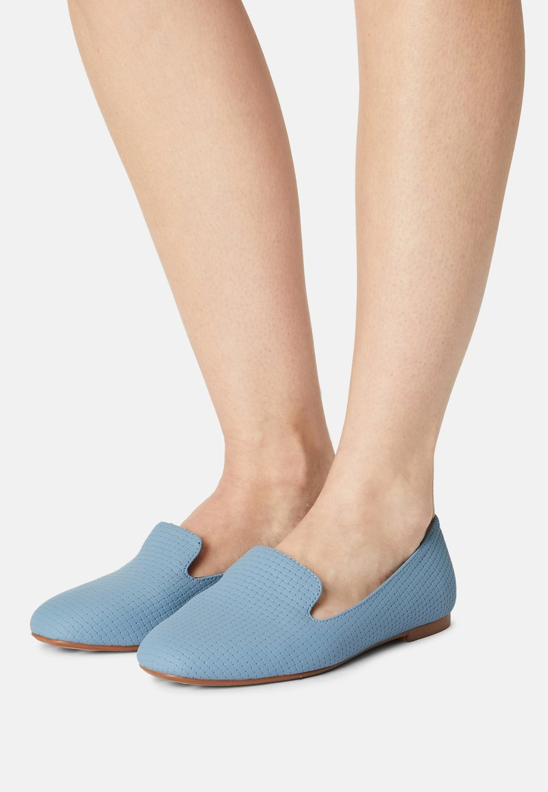 Marks & Spencer London - Slippers - dusty blue