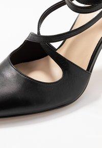 Anna Field - LEATHER HIGH HEELS - Zapatos altos - black - 2