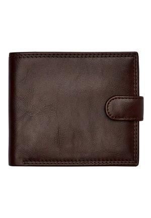 BLACK PU POPPER FRONT WALLET - Wallet - brown