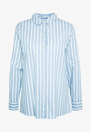 BLOUSE STRIPED - Blouse - spring blue