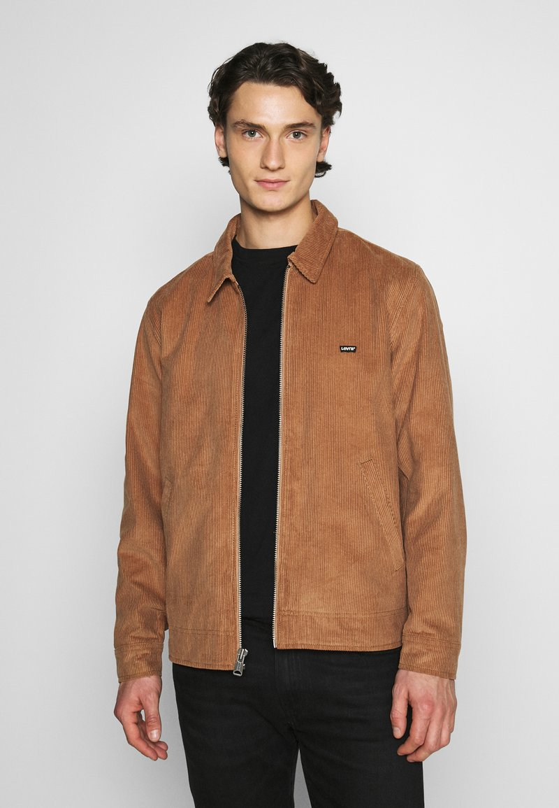 Levi's® - HAIGHT HARRINGTON JACKET - Summer jacket - toasted coconut