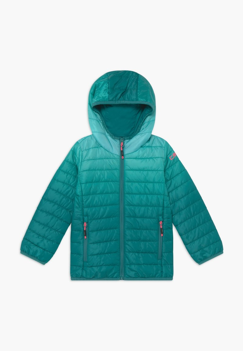 CMP - GIRL JACKET FIX HOOD - Winter jacket - lake