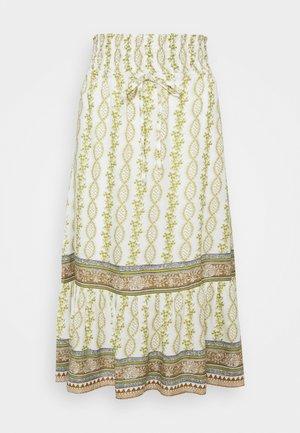 CROLINA SKIRT - A-line skirt - green
