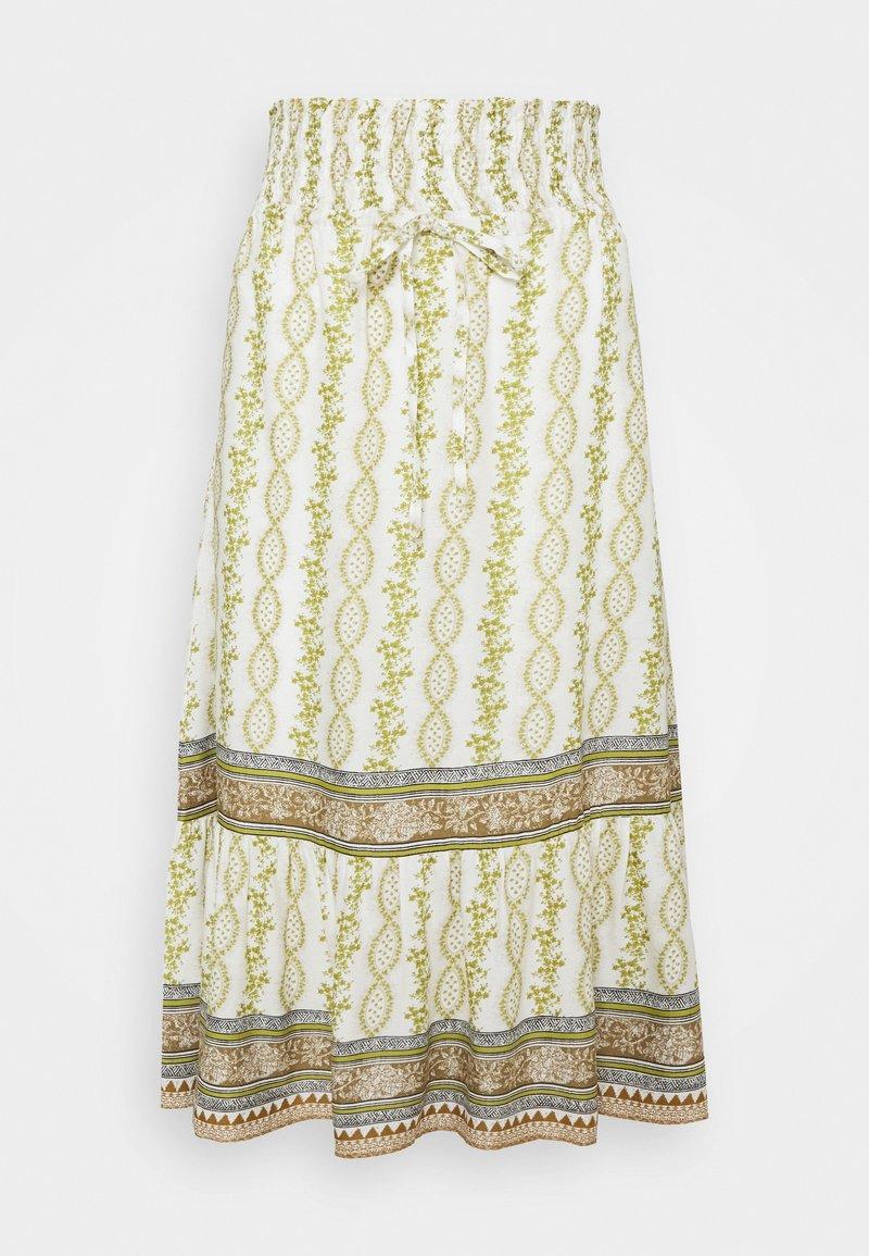 Cream - CROLINA SKIRT - A-line skirt - green