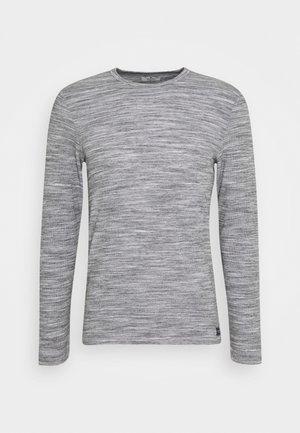 LONGSLEEVE - Jumper - light stone grey melange