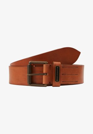 LEDGER BELT - Cintura - chestnut