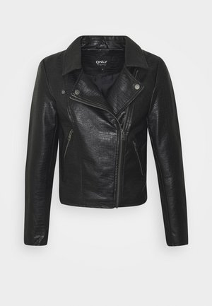 ONLCOCO BIKER - Giacca in similpelle - black
