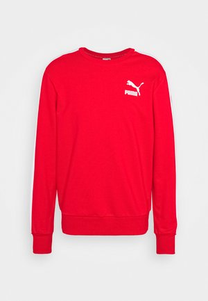 ICONIC CREW - Sweatshirt - high risk red