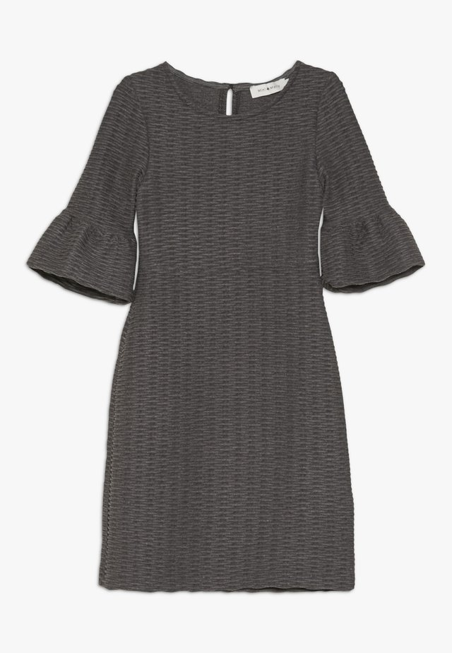 GIRLS DRESS - Žerzejové šaty - dark grey
