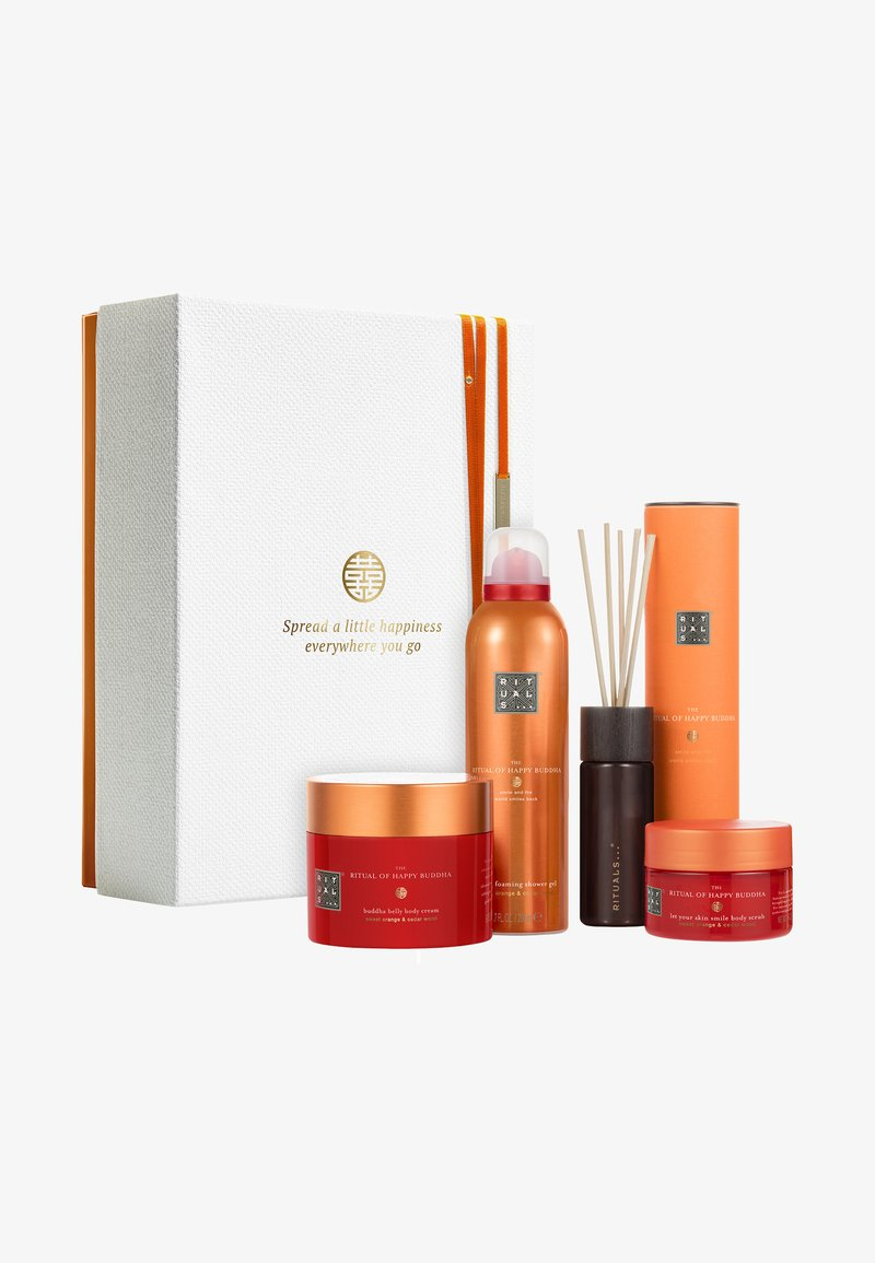 Rituals - THE RITUAL OF HAPPY BUDDHA,GIFT SET LARGE, ENERGISING COLLECTION - Bath and body set - -