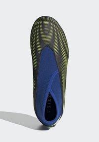 adidas Performance - NEMEZIZ.3 LACELESS TF FUSSBALLSCHUH - Astro turf trainers - black - 3