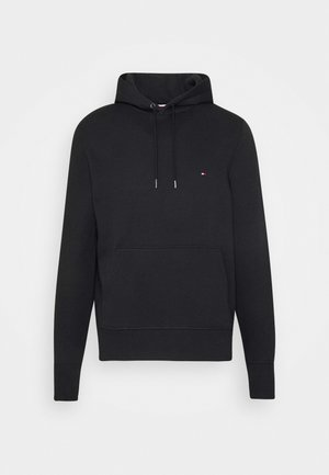 BASIC FLAG HOODY - Luvtröja - black