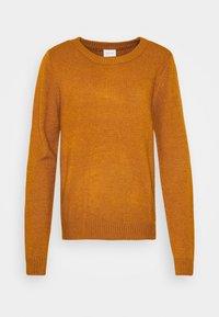 VIRIL O NECK - Jersey de punto - pumpkin spice