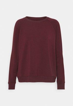 Pyjama top - burgund