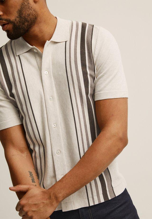 KIRBY  - Overhemd - beige melange