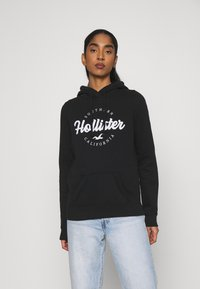 Hollister Co. - TECH CORE  - Sweatshirt - black - 0