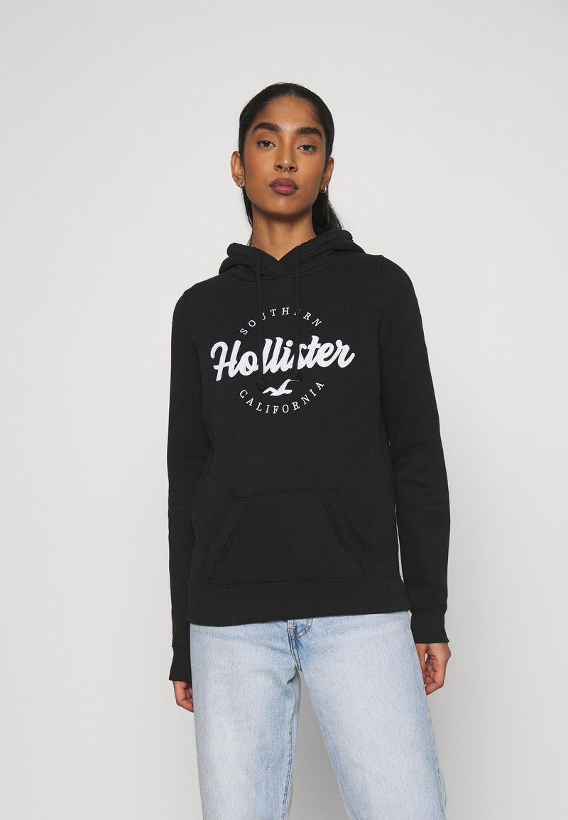 Hollister Co. - TECH CORE  - Sweatshirt - black