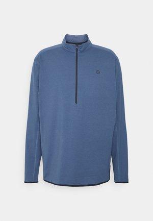 ALL TERRAIN GEAR ZIP - Långärmad tröja - dark blue