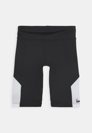 TROPHY BIKE SHORT - Tights - black/white
