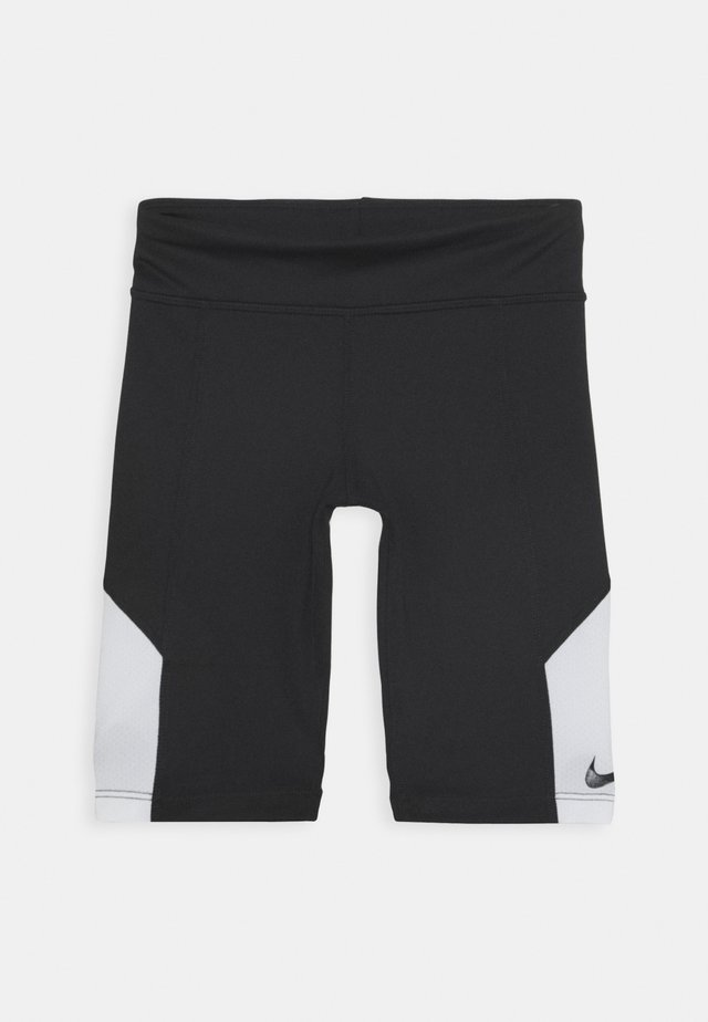 TROPHY BIKE SHORT - Collants - black/white