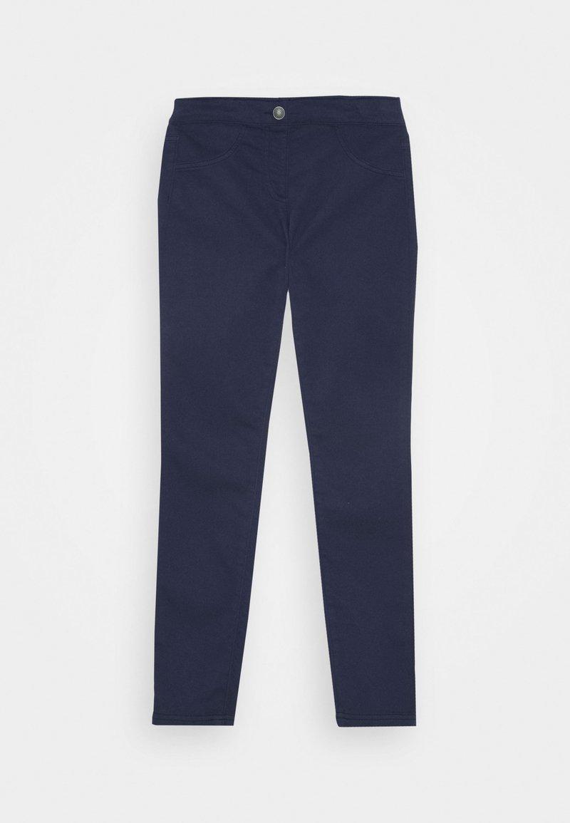 Benetton - BASIC GIRL - Trousers - dark blue