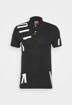 THE GOLF HACKED SLIM - T-shirt med print - black