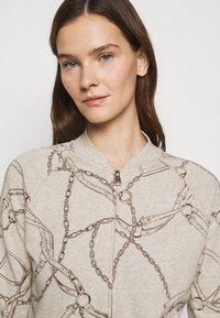 Lauren Ralph Lauren - Zip-up sweatshirt - farro heather - 3