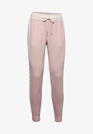 RECOVER  - Tracksuit bottoms - dash pink medium heather