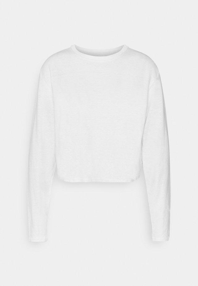 SKYLAR - Long sleeved top - white