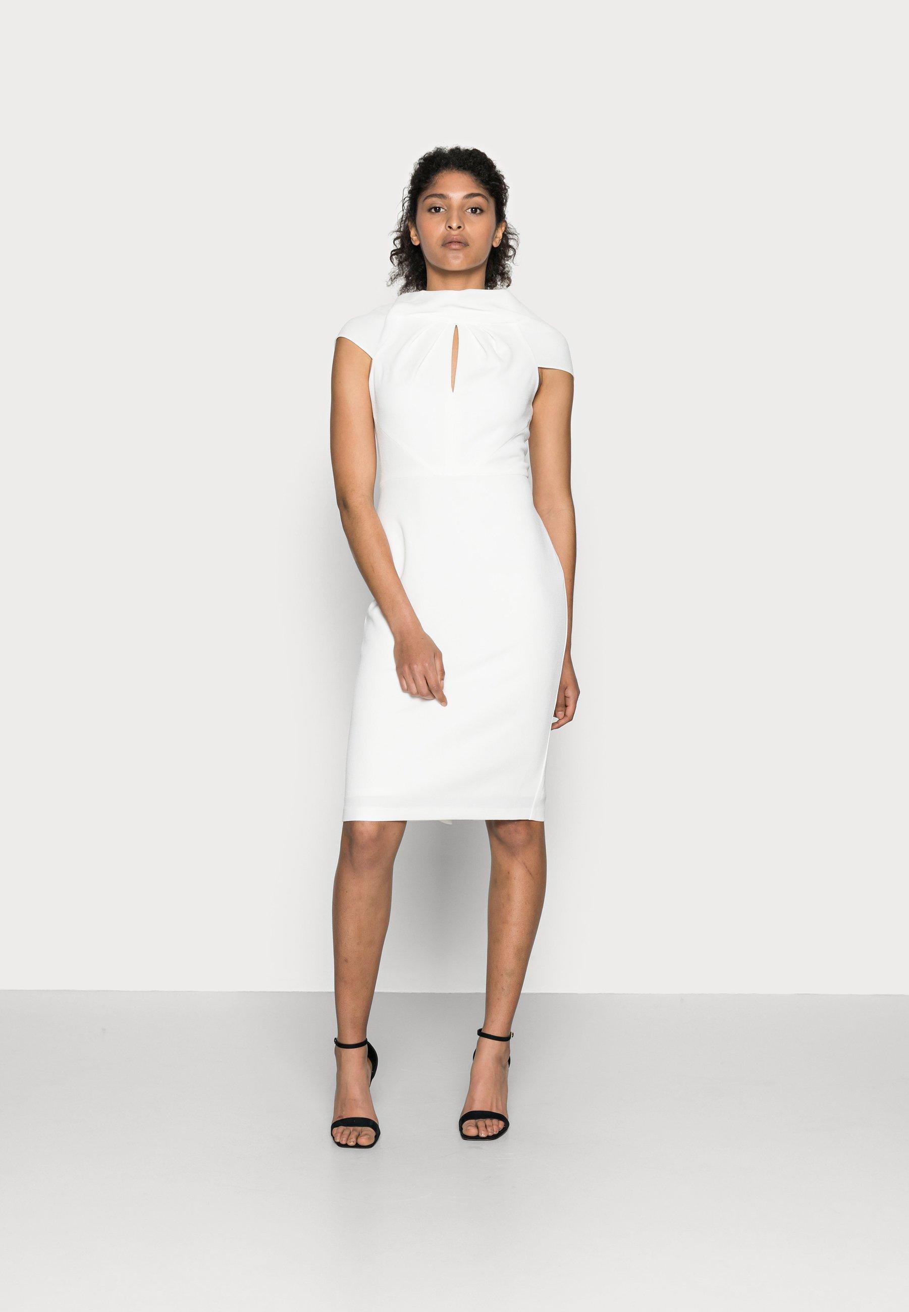 Women CREPE TIE BACK SHEATH - Cocktail dress / Party dress