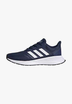 RUNFALCON SHOES - Neutral running shoes - blue/white/black