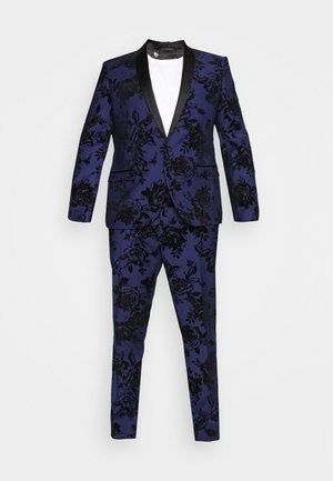 MALKOVICH SUIT PLUS SET - Suit - blue