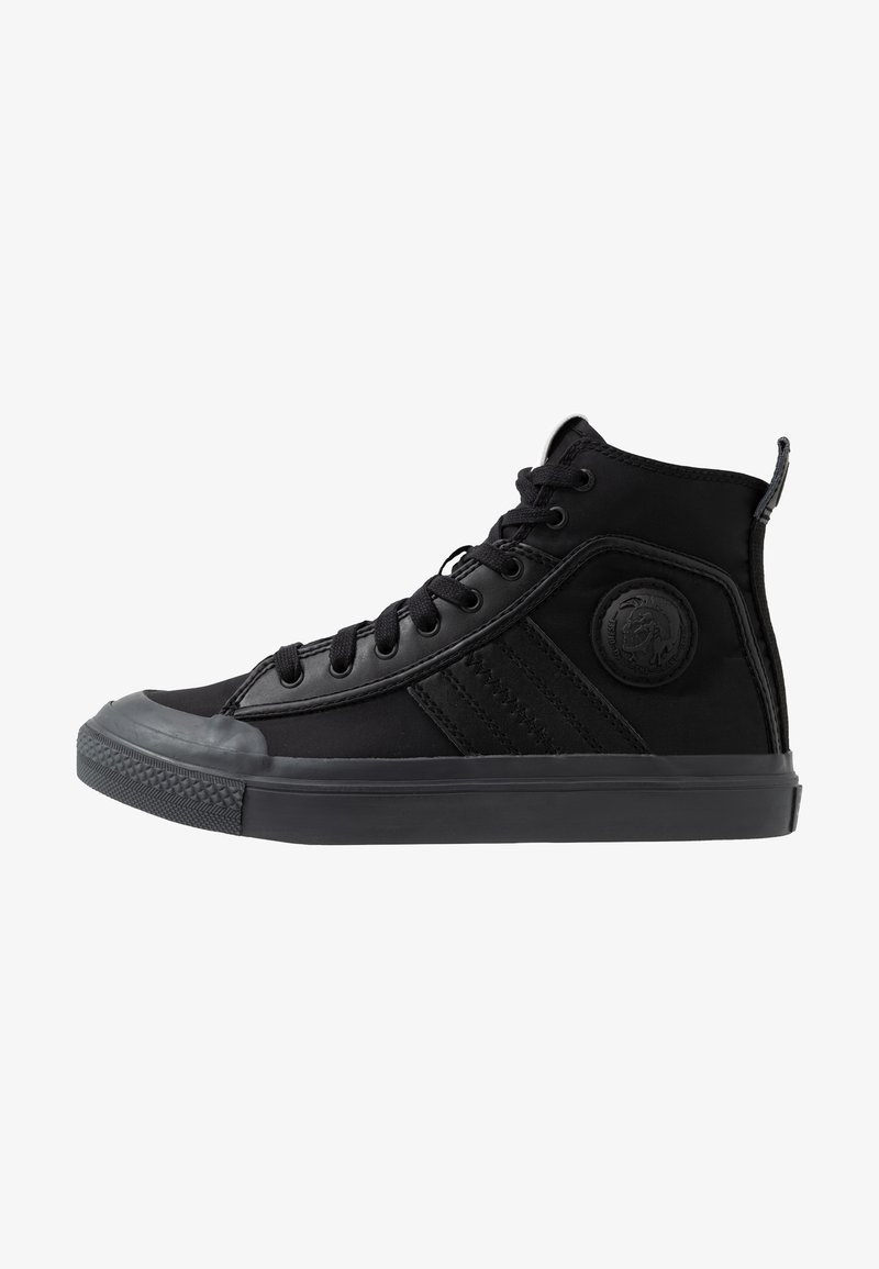 Diesel - S-ASTICO MID LACE - High-top trainers - black