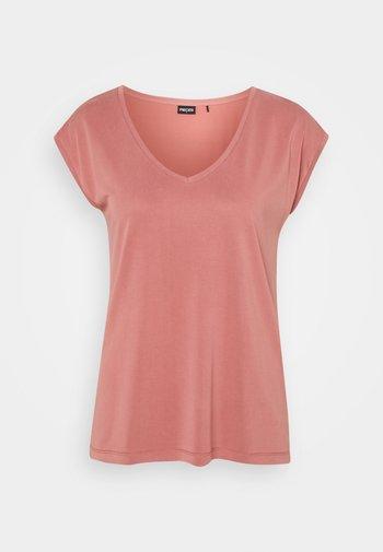 PCKAMALA TEE - Basic T-shirt - canyon rose