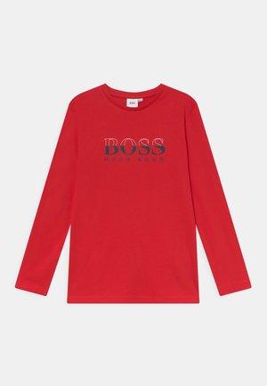 LONG SLEEVE - Long sleeved top - red