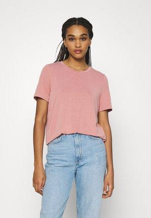 OBJANNIE S/S NOOS - Basic T-shirt - ash rose