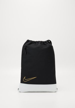 HOOPS ELITE GYMSACK - Mochila de deporte - black/white/metallic gold