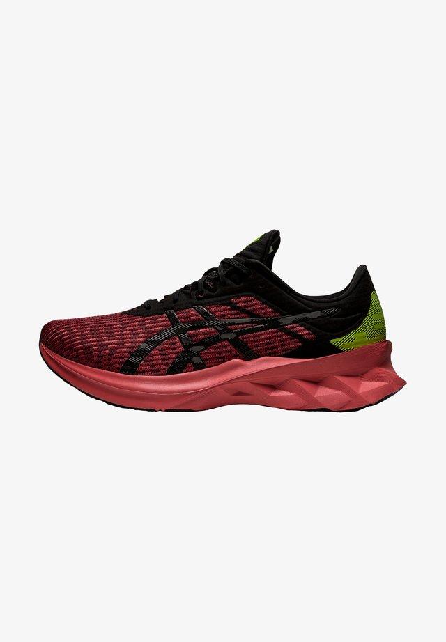 NOVABLAST - Sneakers laag - red brick/black