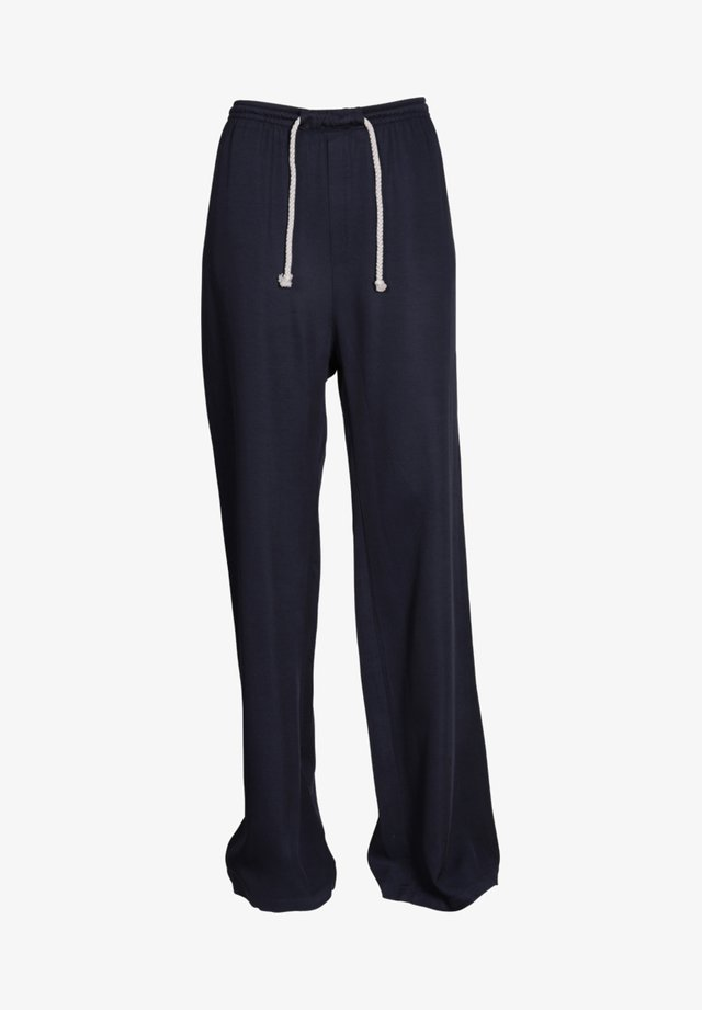 WESS  - Tracksuit bottoms - blau
