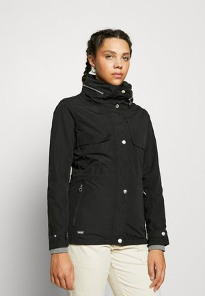 NARELLE - Waterproof jacket - black
