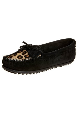 LEOPAD KILTY  - Mocassins - black