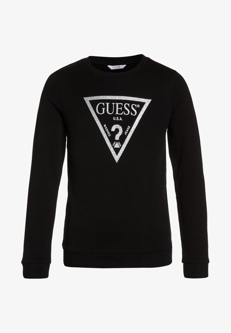Guess - JUNIOR CORE - Mikina - noir
