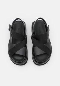 Furla - REAL FUSBET - Sandály na platformě - nero - 4