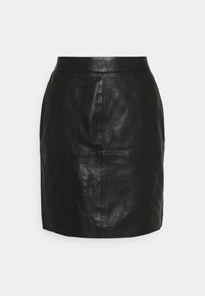 ONLLENA SKIRT - Mini skirt - black