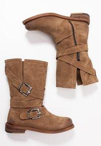 Felmini Wide Fit - GREDO - Cowboy/Biker boots - momma - 3