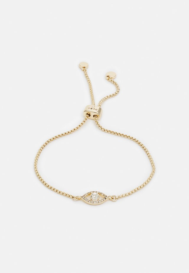 CARDED SLIDER EVIL EYE - Bracelet - gold-coloured
