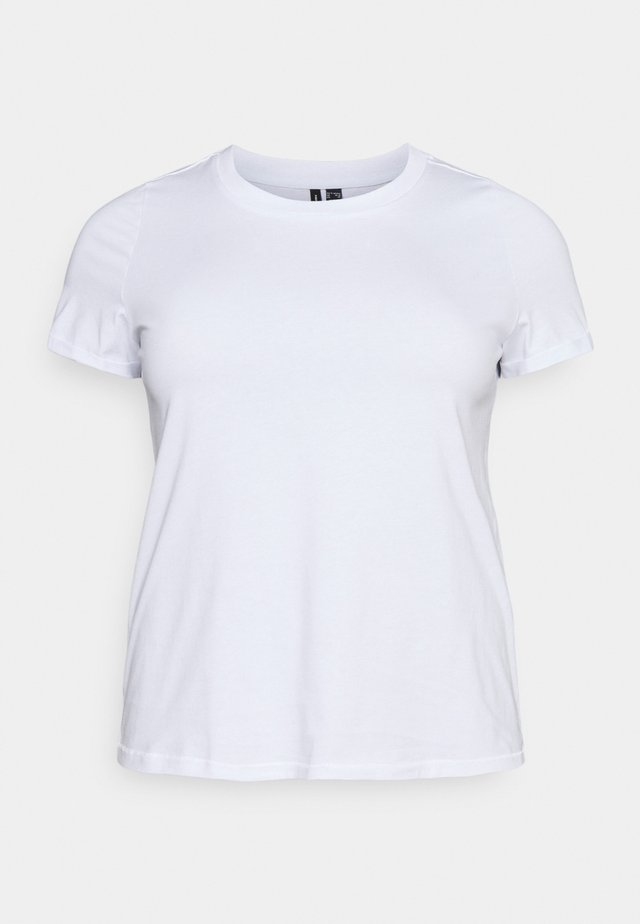 VMPAULA - T-shirt basic - bright white